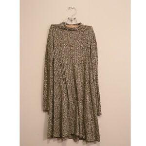 love, Fire Dresses - love, Fire high-neck long sleeve dress
